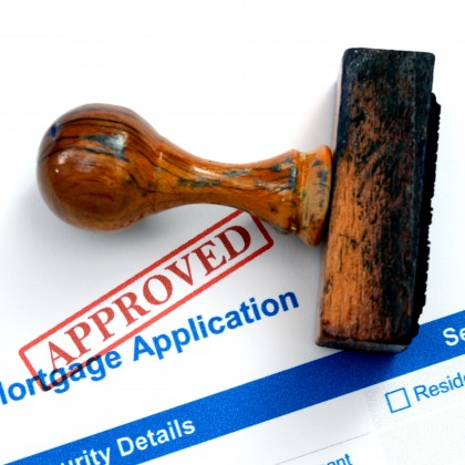 Mortgage form - approved