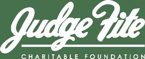 Judge Fite Charitable Foundation Logo White